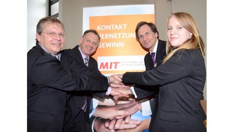 42. MIT-Unternehmer-Frühstück in Wedel unter dem Motto Kontakt+Vernetzung+Gewinn